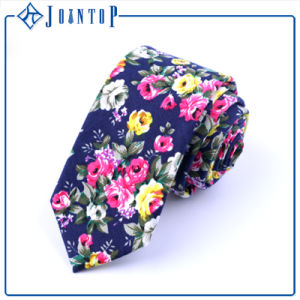 Printing Flower Eco-Friendly Handmade Wool Stock Necktie pictures & photos