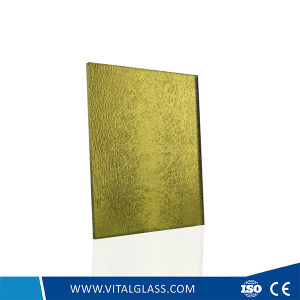 Frosted Glass/Acid Etched Patterned Decorative Glass/Tempered Shower Door Glass/Double Glazing Glass/Hollow Laminated Glass/Insulated Glass pictures & photos