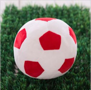 Plush Fabric Stuffed Soccer Ball Emoji Pillow pictures & photos