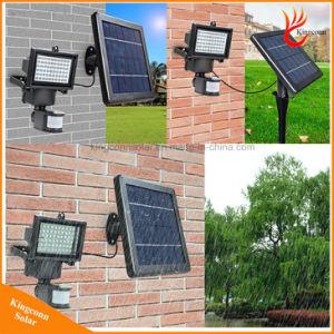 Outdoor 60LED Solar Powered Motion Sensor Light LED Flood Light pictures & photos