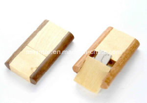 USB Disk Wood USB Memory Stick Swivel USB Flash Drive pictures & photos