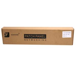 UTP Cat5e 24port Patch Panel Fluke Test 24port pictures & photos