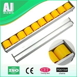 Hairise Polymer Guard Rails Conveyor Plastic Chain Side Roller Guides pictures & photos