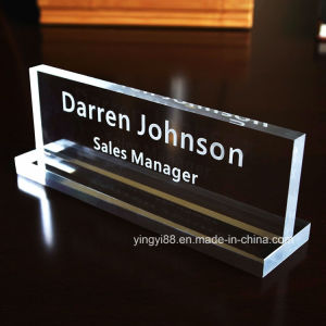 New Acrylic Name Plate with Printing pictures & photos