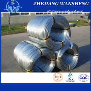 High Tension Strength Oval Galvanized Steel Wire pictures & photos