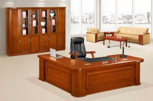 Chinese Office Furniture Antique Wooden Executive Desk pictures & photos