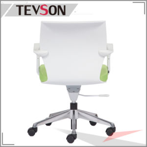 Wholesale Office Furniture Plastic Office Chair with Aluminum Base pictures & photos