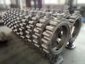 Butterfply Valve Sand Casting Steel Casting pictures & photos