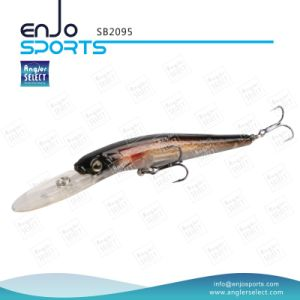 Plastic Artificial Bait Deep Diving Fishing Lure with Vmc Treble Hooks pictures & photos