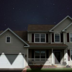 Infrared Body Sensor Lamp Energy Saving Solar Street LED Light pictures & photos