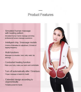 China Famous Brand Rocago Handheld Shoulder Massager with Tapping pictures & photos