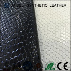 Pearl Surface PVC Synthetic Leather for Woman Bag and Shoes Upholstery pictures & photos