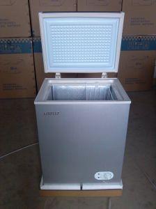 Purswavewr/Wf-108 108L DC Solar Chest Freezer 12V24V48V Single Door Refrigerator DC Compressor Freezer Powered by Solar Panel and Battery -18degree pictures & photos