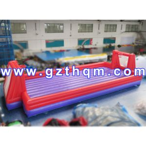PVC Tarpaulin Inflatable Soap Football Field for Outdoor Sports pictures & photos