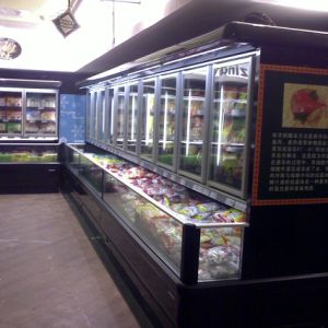 Commercial Automatic Defrost Upright Combine Freezer and Refrigerator for Supermarket pictures & photos