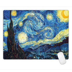 Oil Painting Style Anti-Fray Cloth Gaming Mouse Pad, Extended pictures & photos