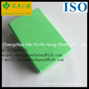Custom Solid Color Light Weight Recyclable EVA Foam Yoga Brick pictures & photos