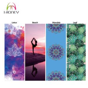 Eco Natural Rubber Foldable Portable Machine Washable Travel Yoga Mat pictures & photos