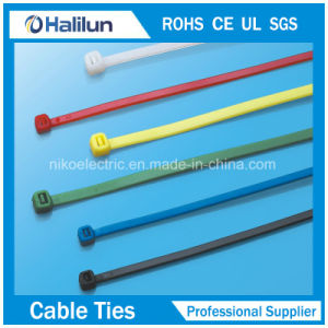 Lanyard Nylon Cable Tie with Promotion Price pictures & photos