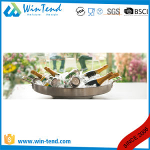Hot Sale Stainless Steel Mexican Cook Dish with 2 Handle pictures & photos