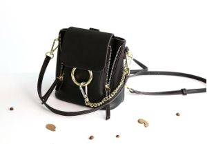 2017 New Bucket O-Rang Hand Bag Flip Single Color Crossbody Bag Hcy-5039 pictures & photos