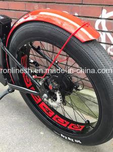 Beach Cruiser/Vintage/Retro 250W/350W/500W Electric 26X4 Fat Tyre Bike/E Fat Tire Bicycle/Electric Snow Bike/E Fatty Bicycle/E Sand Bike/E All Terrain Bike Ce pictures & photos