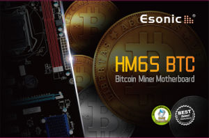 Esonic Bitcoin Miner Motherboard with Core I3 I5 I7 CPU Combo, 8*Pcie Slots, Btc Mainboard Motherboard pictures & photos