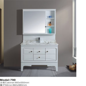Bathroom PVC Floor Mounted Cabinet pictures & photos