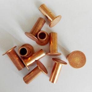 6X20mm Copper Plated Semi Tubular Rivets pictures & photos