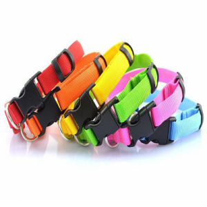 Nylon LED Pet Dog Collar, Night Safety Flashing Glow in The Dark Pets Supplies pictures & photos