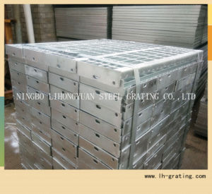 Hot Galvanized Steel Stair Tread with Nosing pictures & photos