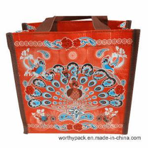 Custom Printing PP Lamination Woven Shopping Handle Bag