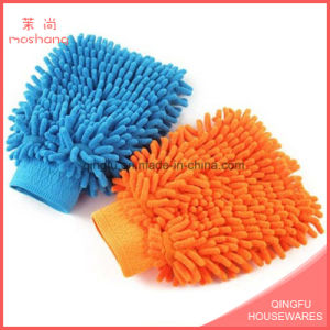 Absorbent Microfibre Chenille Wash Cleaning Mitt Glove pictures & photos