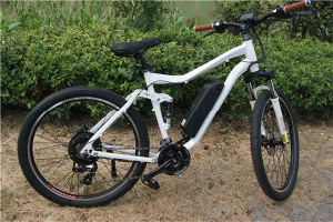 Rear 36V 350W Geared Hub Motor Electric Bicycle for Adults pictures & photos