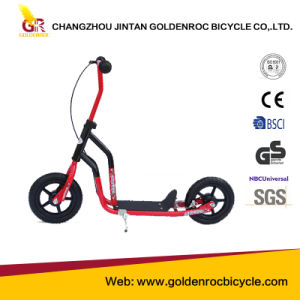 (GL1001) High Quality Fashionable 10′′ Kick Scooter with Steel Frame pictures & photos