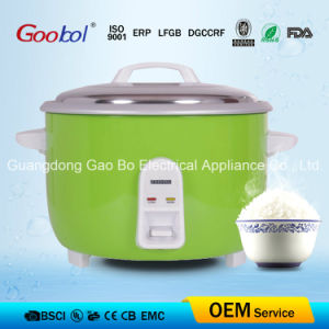 Green Color Drum Rice Cooker with Aluminum Inner Pot pictures & photos