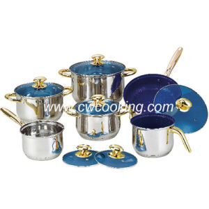 12PCS Stainless Steel Cookware Set - Non-Stick Milk Pot pictures & photos