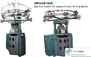 Computerized Frabic Small Diameter Double Jacquard Circular Knitting Machine pictures & photos