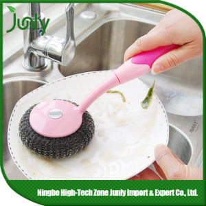 Scourer Cleaning Brush Steel Scourer Kitchen Cleaning Brush pictures & photos