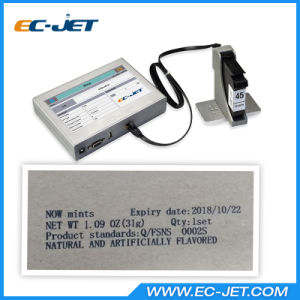 Expiry Date Printing Machine Inkjet Printer for Carton Box (ECH700) pictures & photos