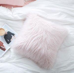 Super Soft Tibet Sheep Fur Hotel Decorative Pillow pictures & photos