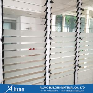 Aluminum Glass Louver Windows pictures & photos