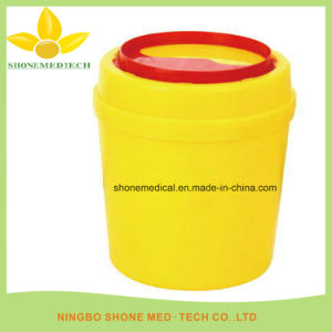 Plastic Sharps Container, Medical Disposable Needle Box pictures & photos