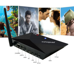 2017 New Model Pendoo PRO Rk3328 2g 16g Dual WiFi Android 7.1 TV Box with Bluetooth pictures & photos