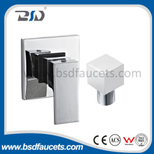 Brass Chrome Single Handle Square Concealed Shower Outlet Bathroom Faucet pictures & photos