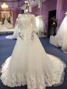 A Line/Princess Full Sleeve High Quality ODM Wedding Dress pictures & photos