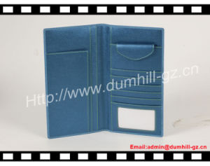 Long Design Blue Color Organizer Checkbook Wallet pictures & photos