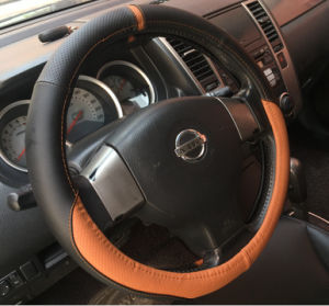 PU PVC Car Steering Wheel Cover