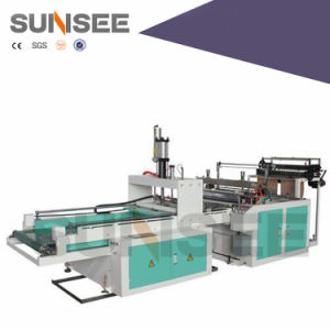 Full-Automatic T-Shirt Bag Making Machine (Double-Layer) pictures & photos