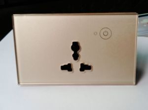 Smart WiFi Remote Control Wall Socket by Yingxin Via Ios and Android Phone APP pictures & photos